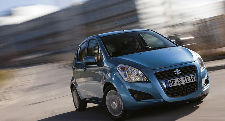 Suzuki Splash Facelift 2012