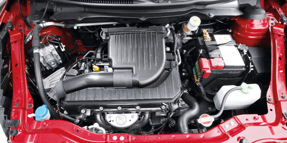 Suzuki Swift 1.2 Motorraum
