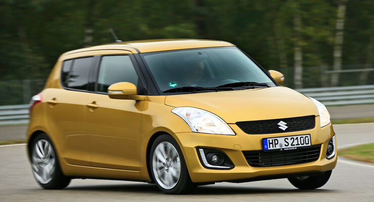 Suzuki Swift, 2013, Frontansicht