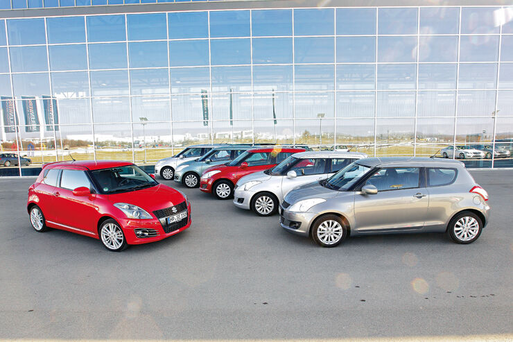 Suzuki Swift, Gruppenbild