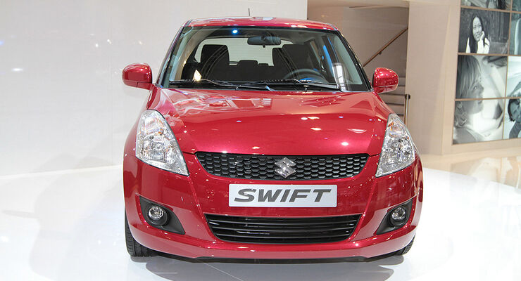 Suzuki Swift, Paris 2010