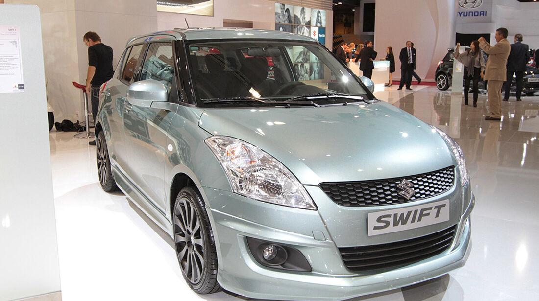 Suzuki Swift, Paris 2010