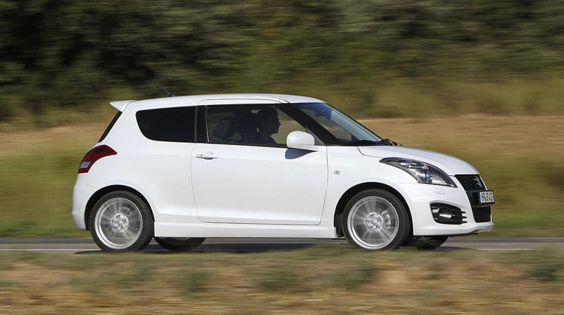 Suzuki Swift Sport, Seite