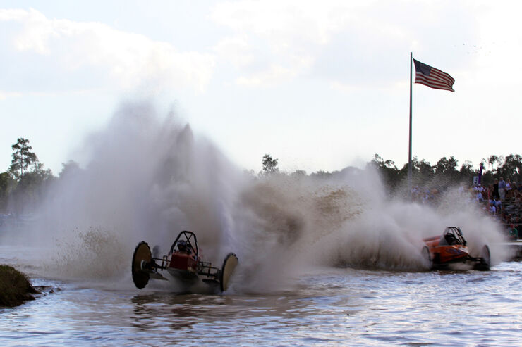 Swamp Buggy WC, KO-Runde