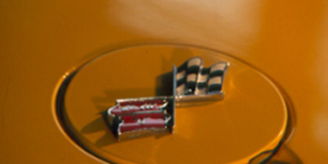 Tankdeckel der Chevrolet Corvette Stingray 454