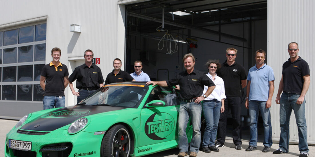Team Projekt Eventreifen Teachart-Porsche GT