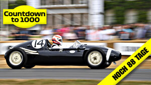 Teaser - 1000 GPs Countdown - Cooper T43 - Martin Brundle - Goodwood 2018