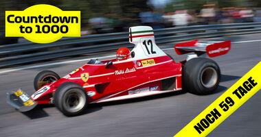 Teaser - 1000 GPs - Niki Lauda - Ferrari 312T - GP Spanien 1975
