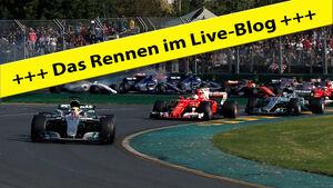 Teaser - Live-Blog - GP Australien 2017