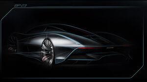Teaser McLaren Hypercar BP23