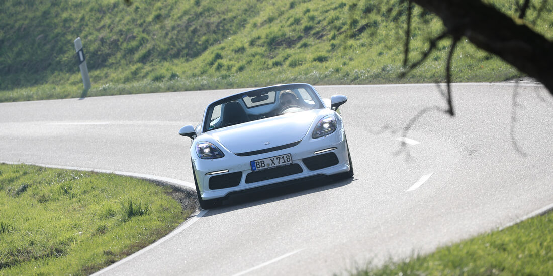 Techart-Porsche 718 Boxster S, Frontansicht