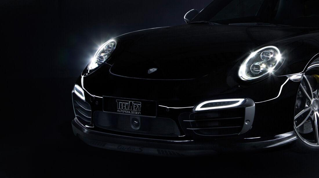Techart Porsche 911 Turbo Front