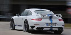 Techart Porsche 911 Turbo S, Heckansicht
