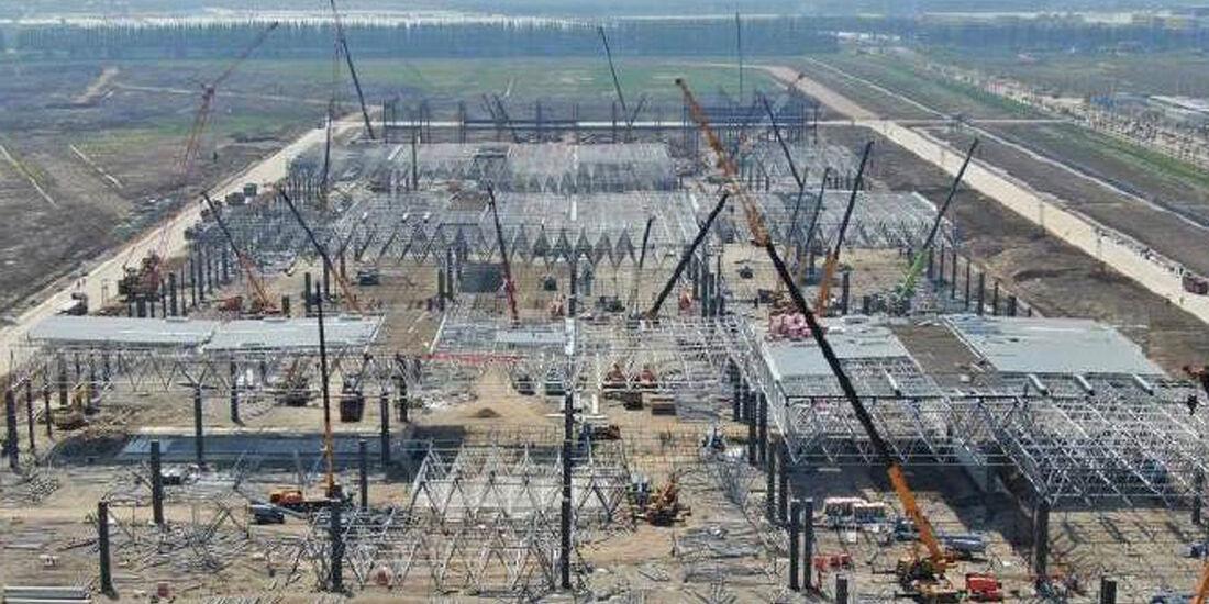 Tesla Gigafactory 2, Shanghai, 04/2019