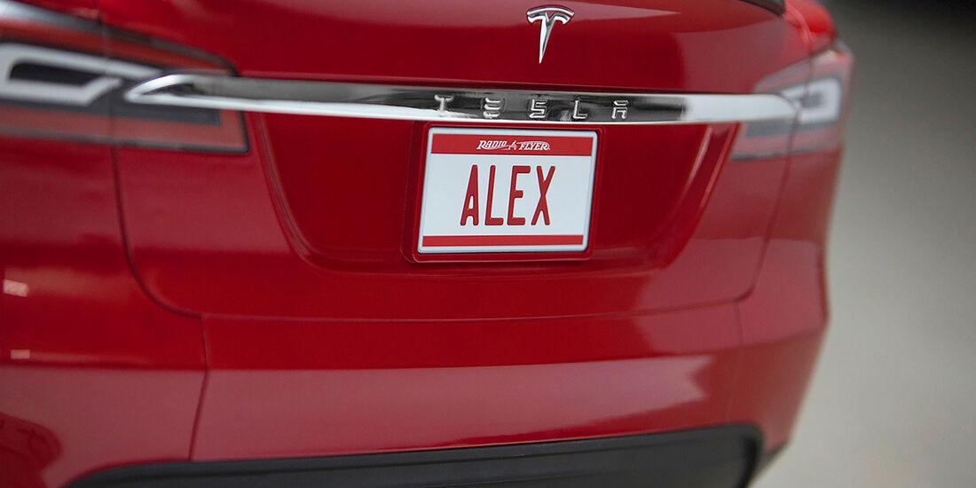 Tesla Kinderauto Rutschauto