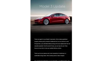 Tesla Model 3 E-Mail