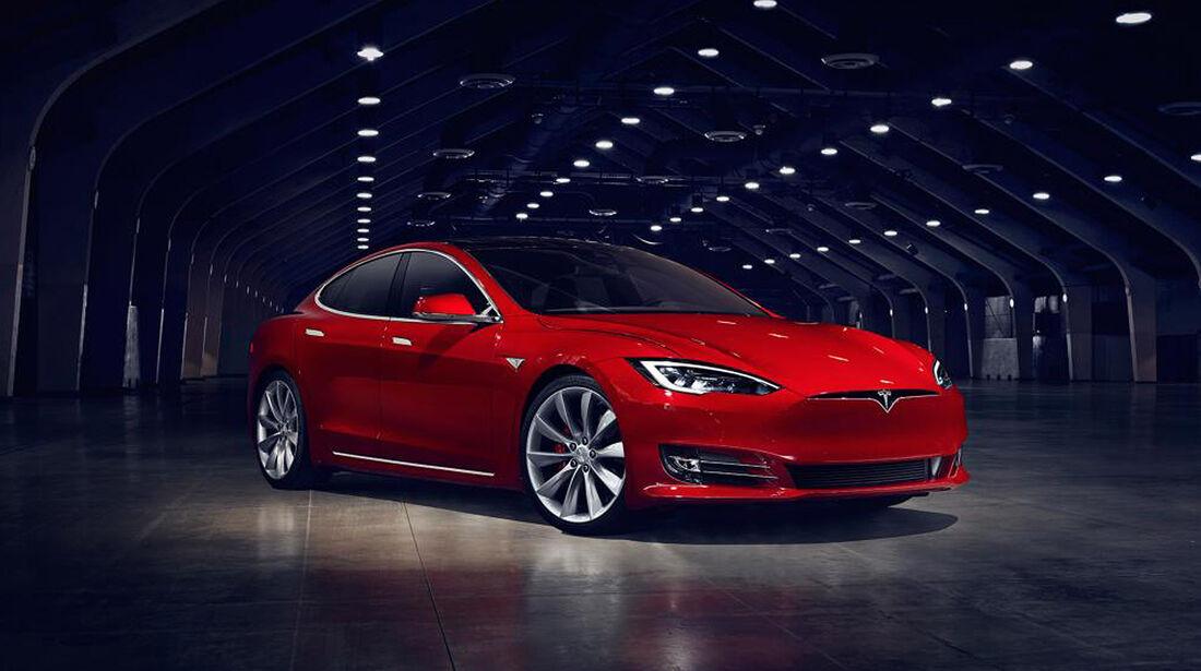 Tesla Model S Facelift