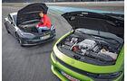 Tesla Model S P100D - Dodge Charger Hellcat - Test