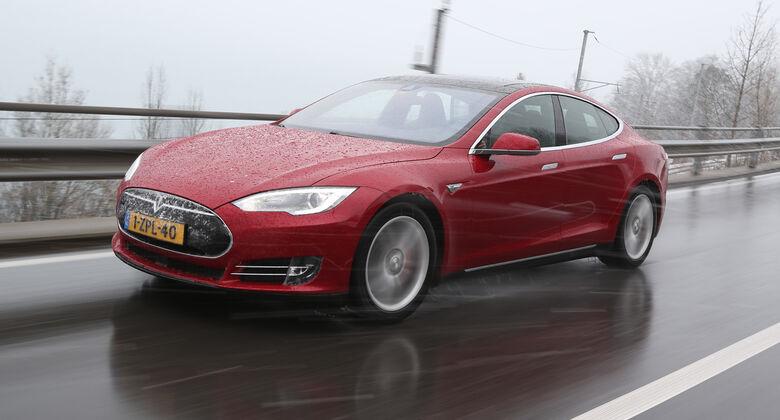 Tesla Model S P85D, Frontansicht
