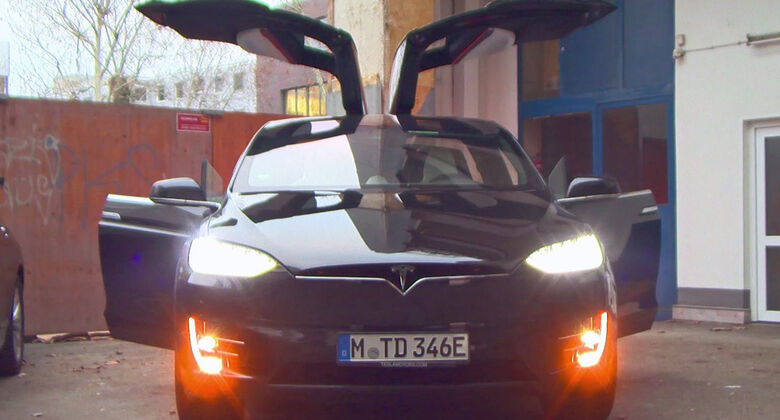 Tesla Model X, Easter-Egg, Geheimmodus