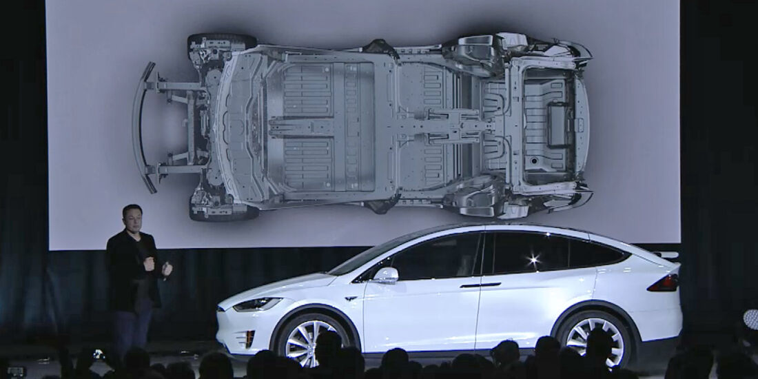 Tesla Model X Präsentation