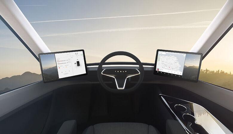 Tesla Semi Innenraum