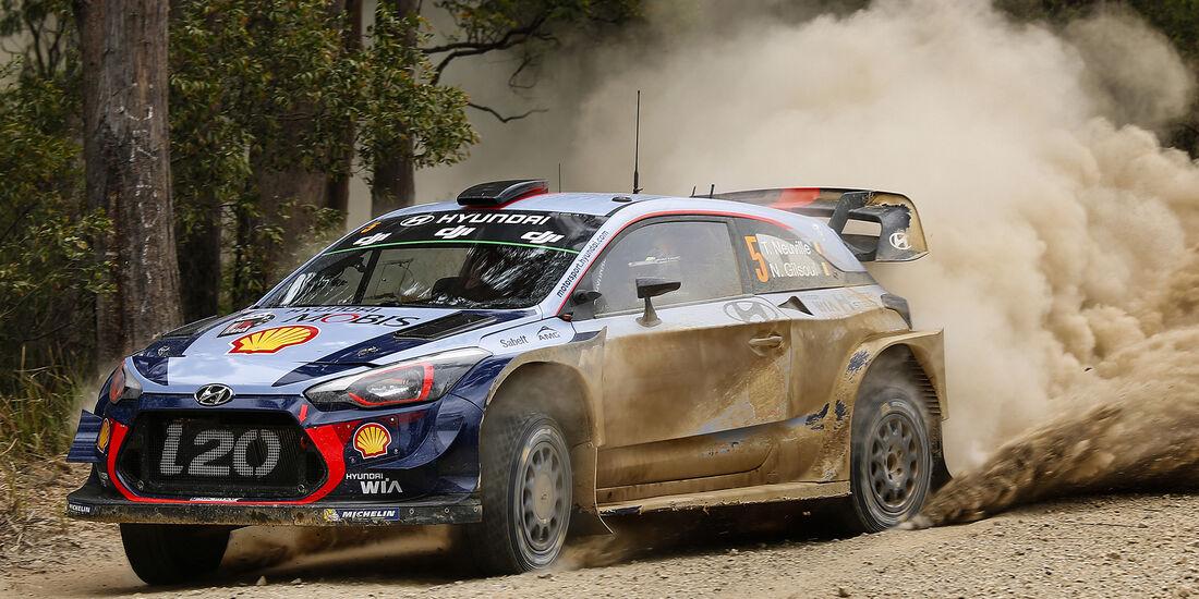Thierry Neuville - Hyundai - Rallye Australien 2017