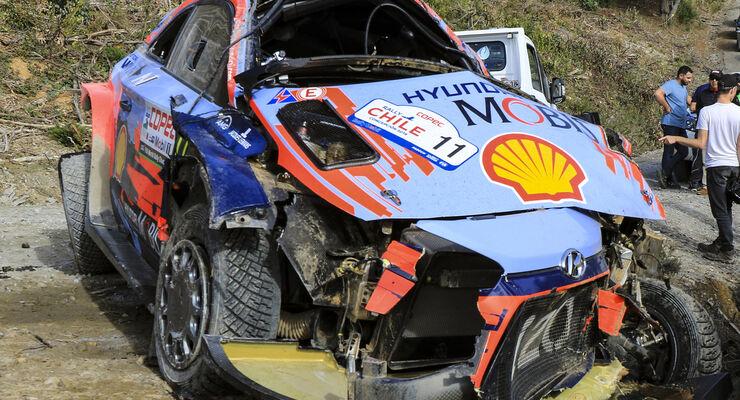 Thierry Neuville - Hyundai - Rallye-WM - Chile 2019