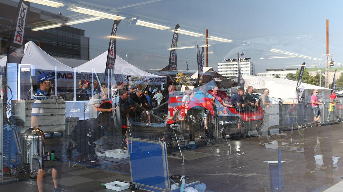 Thierry Neuville - Rallye Finnland 2014 - Tag 2 - Hyundai