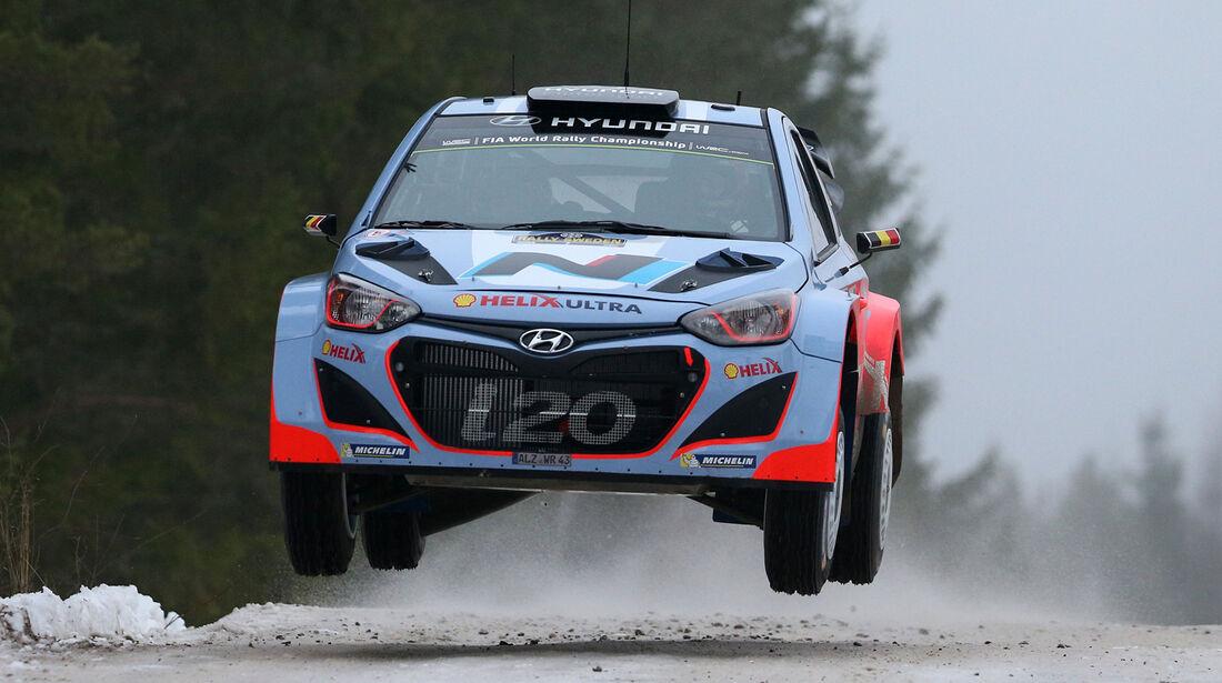 Thierry Neuville - Rallye Schweden 2014