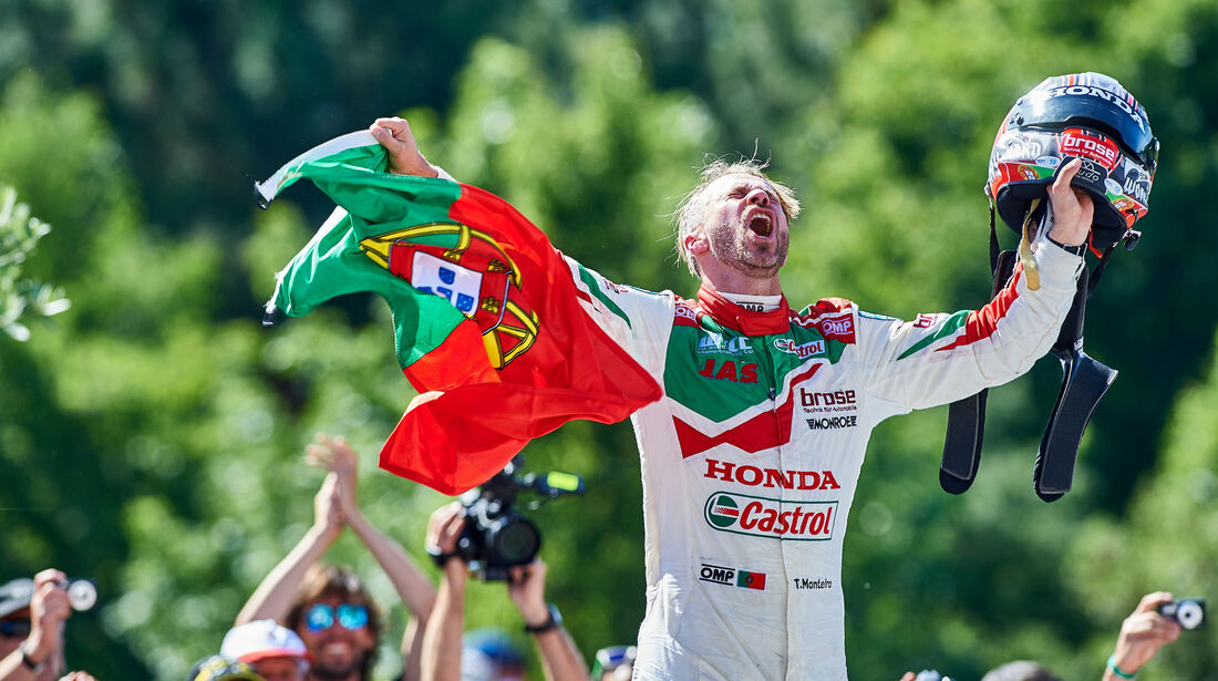Tiago Monteiro - WTCC - Portugal 2016
