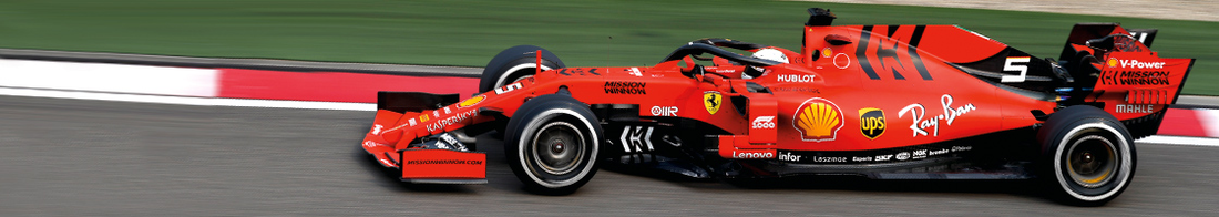 Ticker - Header - F1 2019