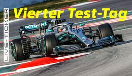 Ticker-Teaser - Lewis Hamilton - Barcelona - Test - 2019