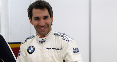 Timo Glock BMW DTM Test Valencia 2013