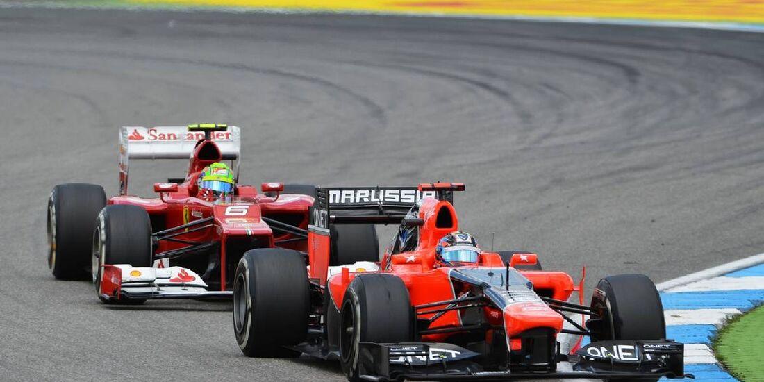Timo Glock - Formel 1 - GP Deutschland - 22. Juli 2012