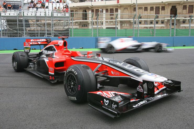 Timo Glock - GP Europa Valencia 2011