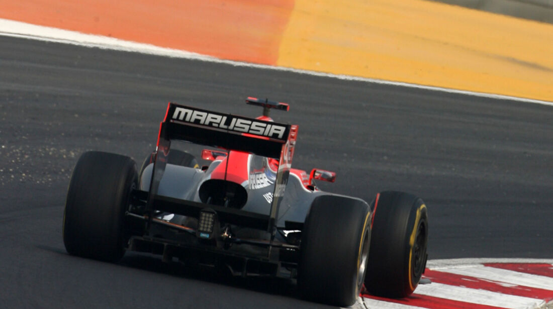 Timo Glock - GP Indien - Training - 28.10.2011
