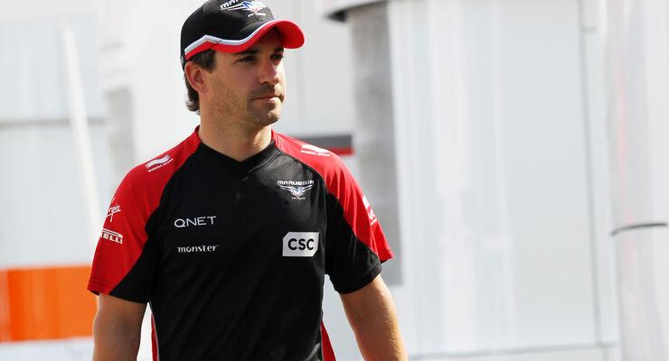 Timo Glock Marussia 2012