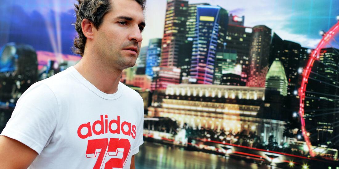 Timo Glock - Marussia - Formel 1 - GP Singapur - 20. September 2012