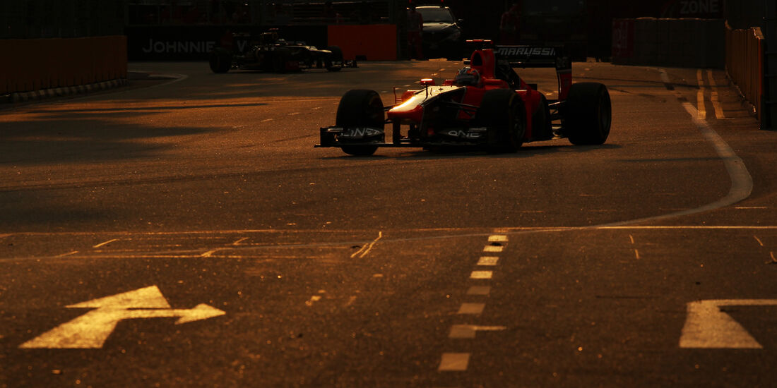 Timo Glock - Marussia - Formel 1 - GP Singapur - 22. September 2012