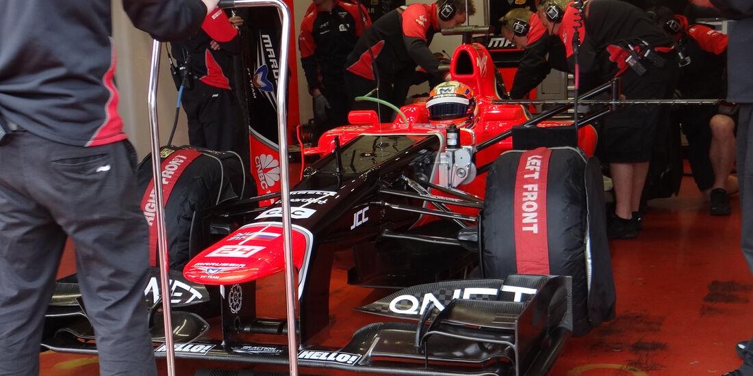Timo Glock - Marussia - Formel 1-Test - Mugello - 3. Mai 2012