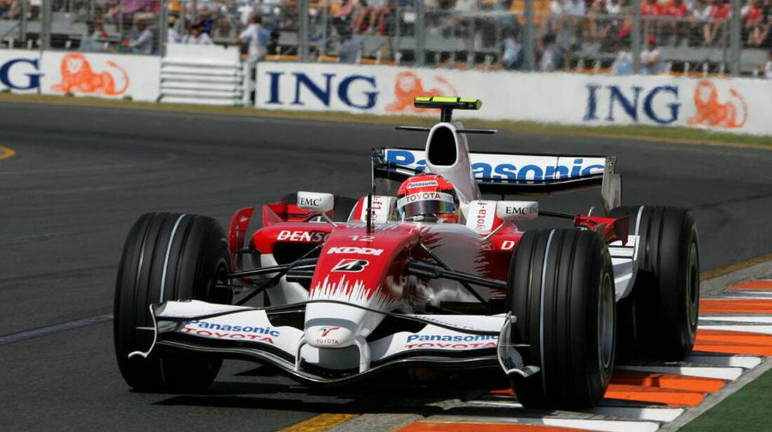 Timo Glock Toyota 2008