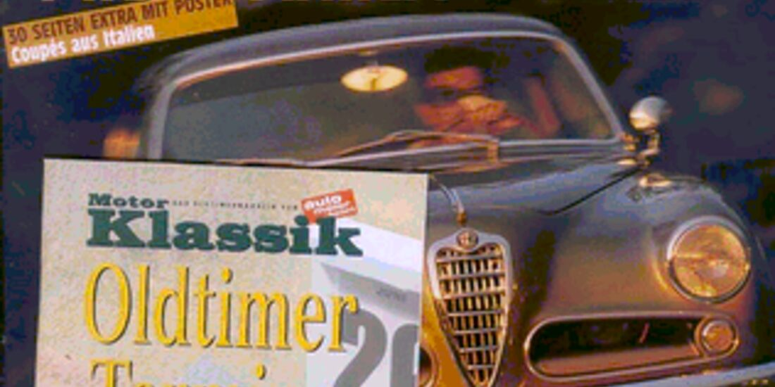 Titel Motor Klassik, Heft 04/2002