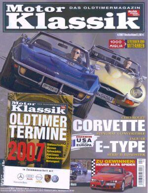 Titel Motor Klassik, Heft 04/2007