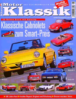 Titel Motor Klassik, Heft 05/2003