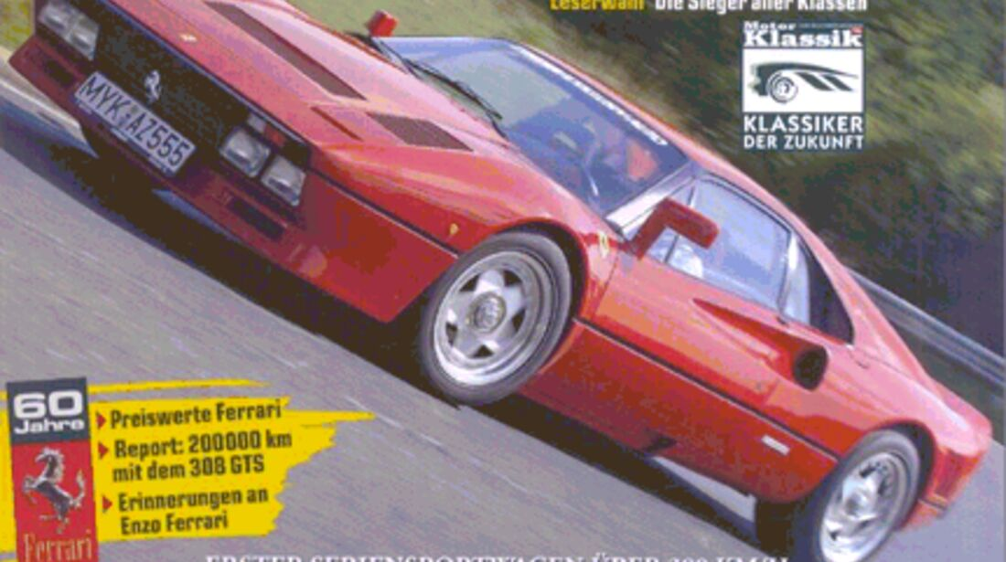 Titel Motor Klassik, Heft 07/2007