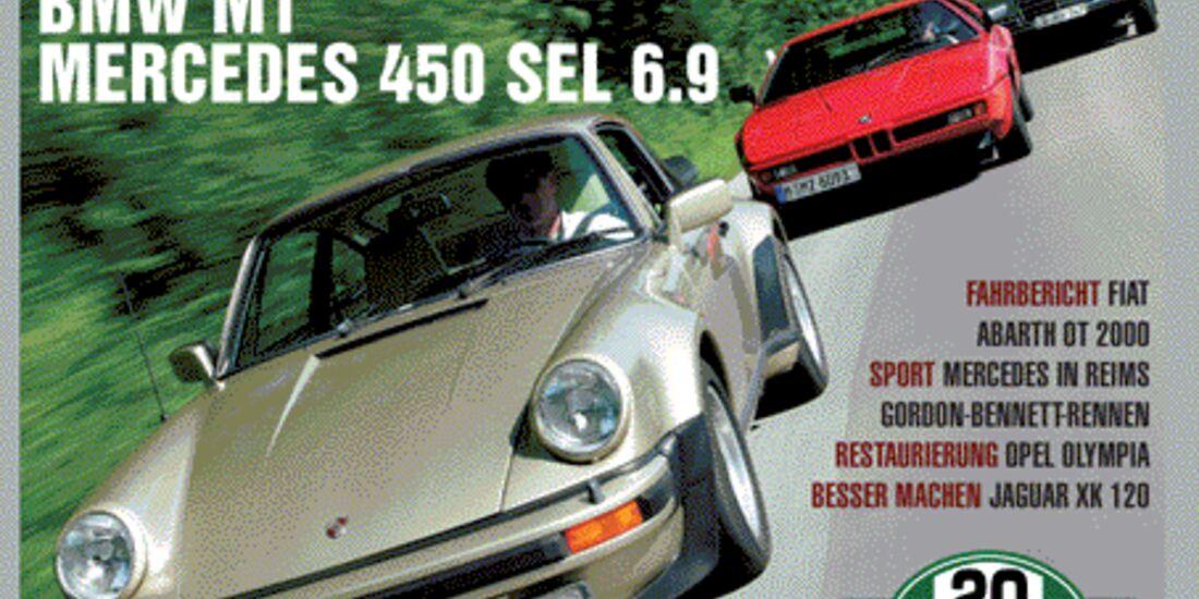 Titel Motor Klassik, Heft 08/2004