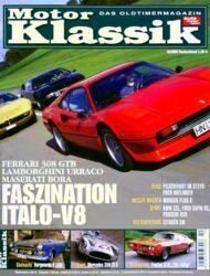 Titel Motor Klassik, Heft 10/2005