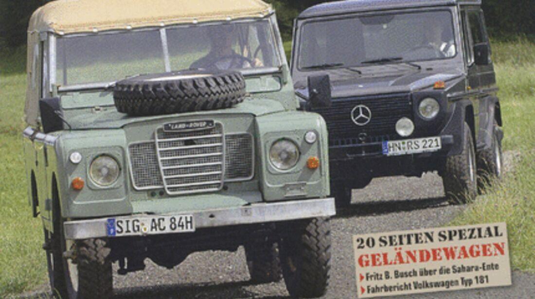Titel Motor Klassik, Heft 10/2007