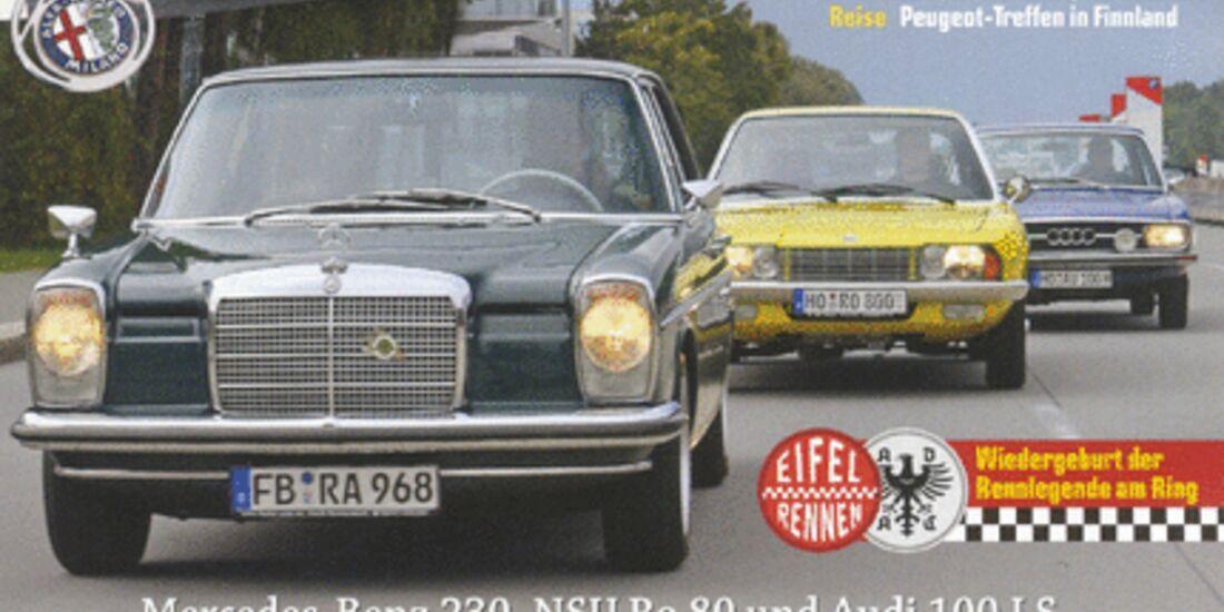 Titel Motor Klassik, Heft 11/2008